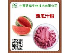 西瓜汁粉批发 宁夏沙西瓜浓缩粉厂家 西瓜皮提取物供应