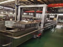 利特漂烫机介绍 蘑菇漂烫机流水线 菠菜杀青漂烫机在线咨询