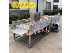 生蚝洗刷机 平行毛辊牡蛎清洗机