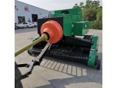 捡拾式草捆打捆机 捡拾玉米秸秆的机器 牵引式方草捆捡拾器
