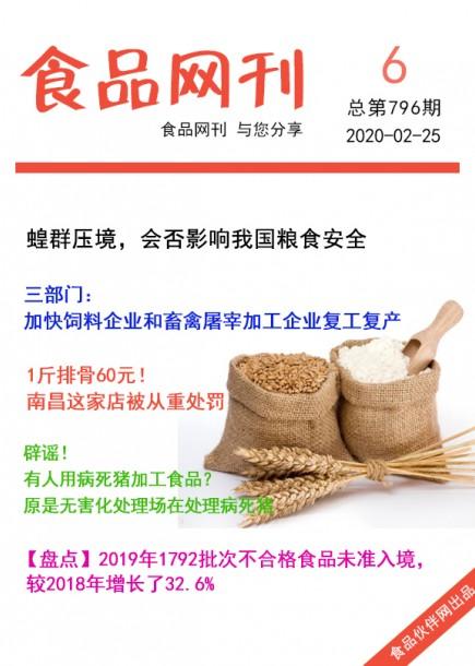 食品网刊2020年第796期