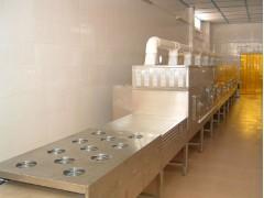隧道流水线式微波干燥机  隧道流水线式微波干燥机工艺