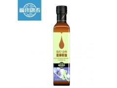 福来康泰一级冷榨亚麻籽油初榨脱蜡胡麻油食用油250ml