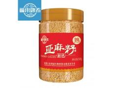 福来康泰熟黄金亚麻籽即食秋麻籽仁生酮代餐磨亚麻籽粉500g