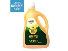 福来康泰冷榨亚麻籽油家庭装一级食用油富含亚麻酸DHA和EPA