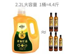 福来康泰一级冷榨亚麻籽油胡麻油家庭孕妇宝宝食用油2.2L