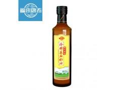 福来康泰亚麻籽油冷榨食用油一级物理压榨胡麻籽油250ml