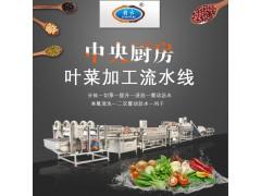 餐饮配送中心全自动蔬菜加工生产线 净菜加工流水线