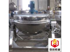 食品蒸煮夹层锅不锈钢快速蒸煮搅拌锅