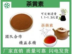 茶黄素10% 茶叶提取物 茶叶发酵原料粉