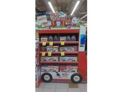 中秋节日陈列地堆花车道具超市卖场广告物料