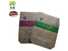 安徽宏甜供应25kg酒石酸包装袋工厂直供牛皮纸袋复合袋