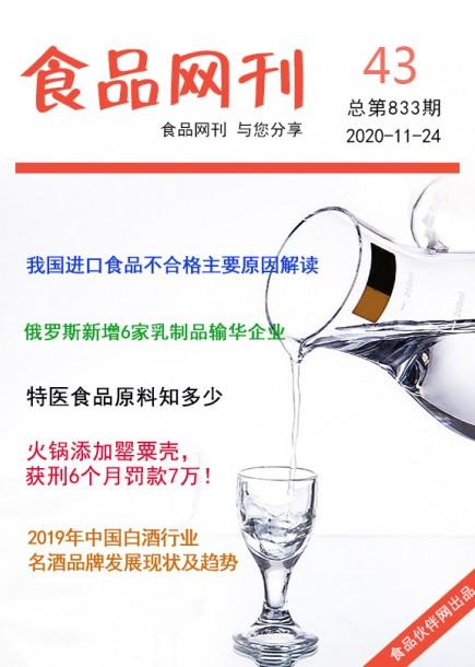 食品網刊2020年第833期