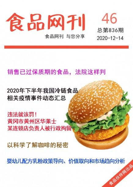 食品网刊2020年第836期