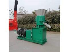 三个压轮的颗粒机 时产200斤饲料颗粒机 表面光滑的饲料机