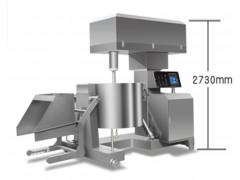 肉丸加工厂丸子机 大型液压肉丸打浆机 制冷液压调速肉丸打浆机