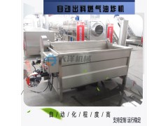 大洋机械出厂价销售燃气油炸机 经济款休闲食品油炸设备