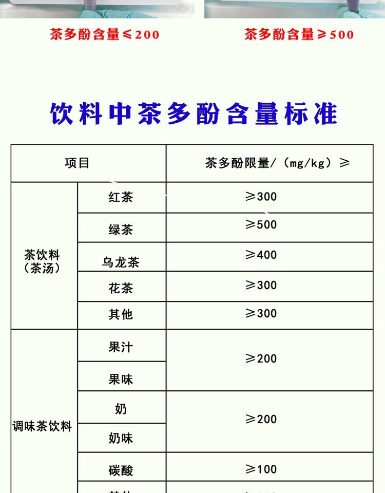 茶多酚检测管5