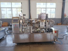 全自动给袋式真空包装机 素肉食品自动真空包装机