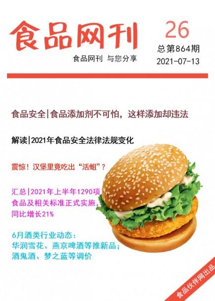 食品網刊2021年第864期